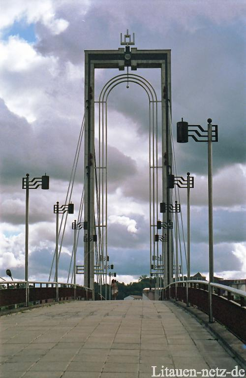 The foot bridge of King Mindovg